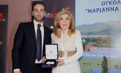 Μαριάννα Βαρδινογιάννη, Πρόεδρος του Συλλόγου Φίλων Παιδιών με καρκίνο «ΕΛΠΙΔΑ» - Νικόλαος Κοκλώνης, Πρόεδρος και Ιδρυτής της Aifasttickets