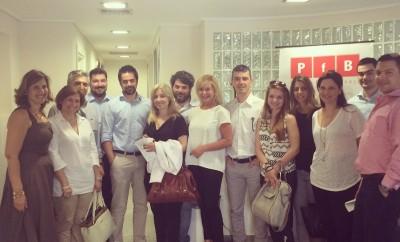 Η PfB υποστηρίζει τους νικητές του Ελληνικού Βραβείου Επιχειρηματικότητας