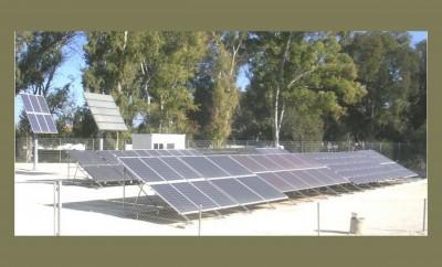 Διάφορες φωτοβολταϊκές τεχνολογίες στο Εργαστήριο Φωτοβολταϊκής Τεχνολογίας του Πανεπιστήμιου Κύπρου