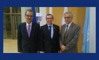 Ο ειδικός σύμβουλος του ΟΗΕ στο Πανεπιστήμιο Κύπρου