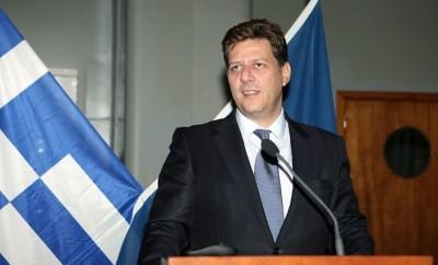 Ο Υπουργός Ναυτιλίας και Αιγαίου, κ. Μ. Βαρβιτσιώτης