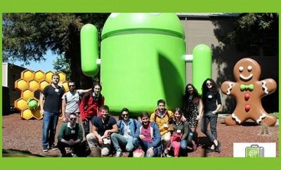 Η ομάδα του Stanford και του Berkeley στα γραφεία της Google