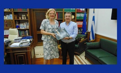 Αυστριακή πρέσβης Περιφέρεια Κρήτης