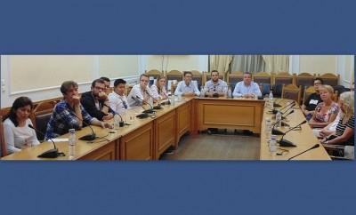 Φοιτητές Γερμανικού Πανεπιστημίου στη Περιφέρεια Κρήτης