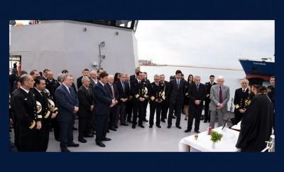 πλοίο ανοιχτής θαλάσσης του Λιμενικού, δωρεά των αδελφών Λασκαρίδη
