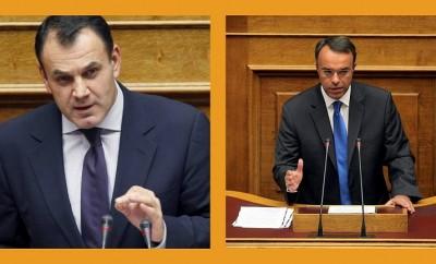 Νίκος Παναγιωτόπουλος-Χρήστος Σταϊκούρας,