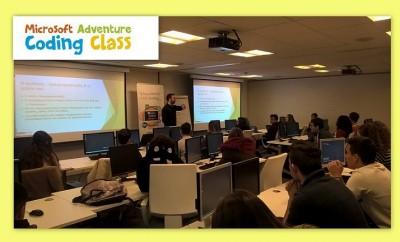 microsoft-adventure-coding-class