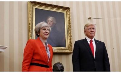 Theresa May- Donald Trump