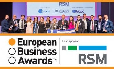 European Business Awards 2016-17 sponsored by RSM