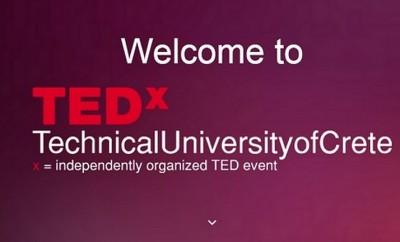 TEDxTechnicalUniversityofCrete