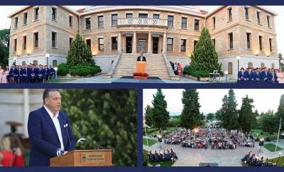 Αποφοίτηση μαθητών Αμερικανικής Γεωργικής Σχολής-2017