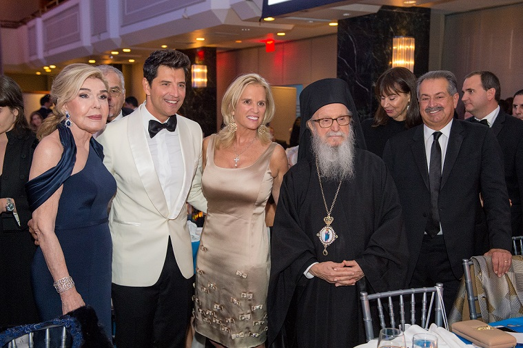 On Friday, September 29, 2017, the Hellenic Initiative held their 5th Annual Gala at the New York Hilton Midtown in New York. Honorees included Marianna V. Vardinoyiannis and the Libra Group. Sakis Rouvas was the Master of Ceremonies.
