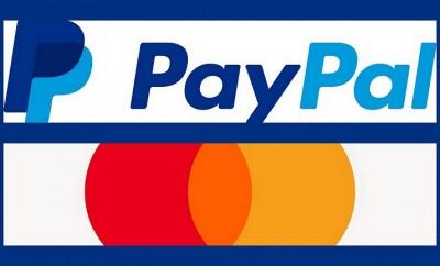 PayPal -Mastercard