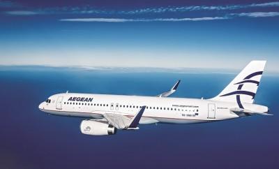 AEGEAN's Airbus A320 m