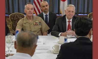 Defense Secretary James N. Mattis, and Marine Corps Gen. Joe Dunford