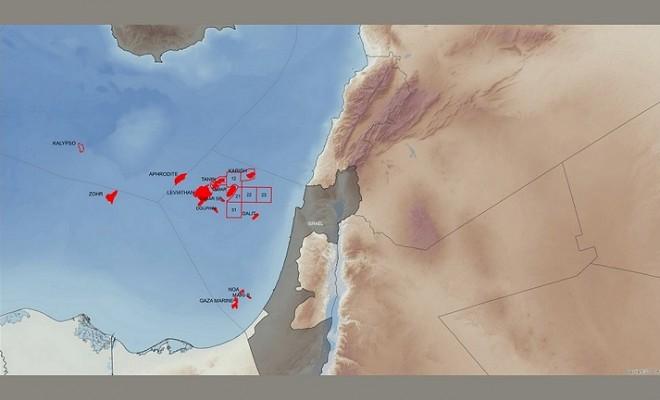 Τα οικόπεδα της Energean και οι άλλες ανακαλύψεις στην περιοχή της ΝΑ. Μεσογείου mw