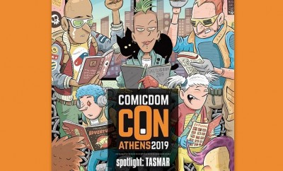 Τάσος Μαραγκός- Comicdom Con Athens 2019