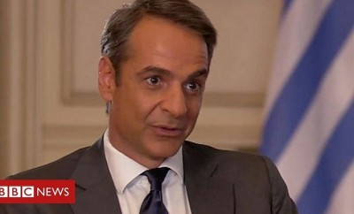 mitsotakis bbc