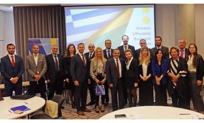 Επιχειρηματική Αποστολή ΣΕΒ-ΕΒΕΑ-ΣΕΒΕ-Enterprise Greece στην Λιθουανία
