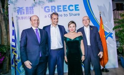 Pavlos Kontomichalos, Greek Prime Minister Kyriakos Mitsotakis
