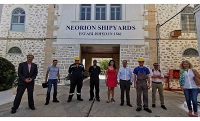 #gopafree Ερμούπολη ONEX Neorion Shipyards