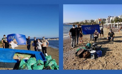 marathon -faliro beach cleaning 1