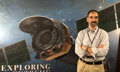 Ο Καθηγητής Αστροφυσικής κ. Ανδρεάς Ζέζας, επιστημονικός υπεύθυνος της ερευνητικής ομάδας ABINGOS