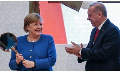 Erdoğan Merkel