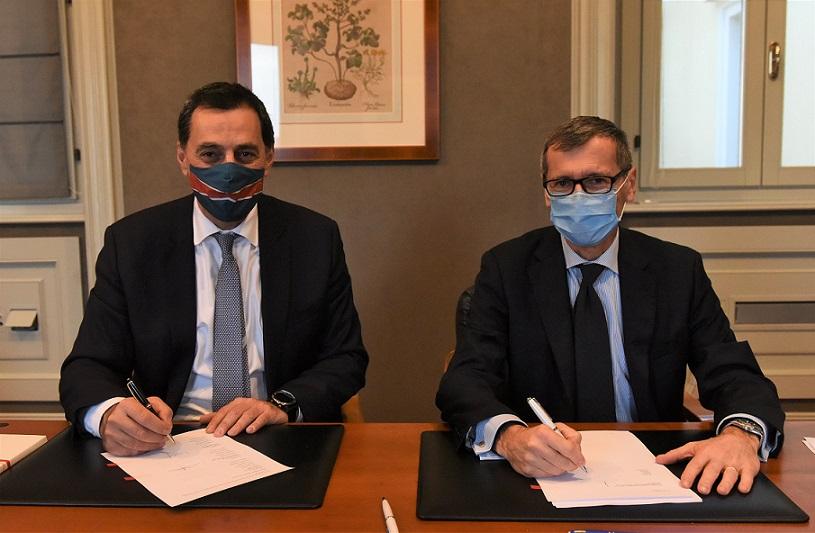 Mathios Rigas (CEO Energean), Nicolas Monti (CEO Edison) 1