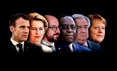 Emmanuel Macron, Angela Merkel, et al. on Multilateral Cooperation for Global Recovery