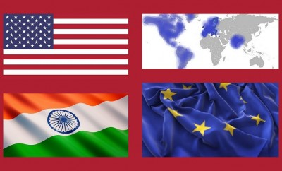 U.S.-Europe-India
