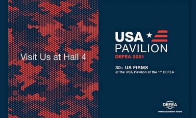 USA Pavilion , DEFEA 2021